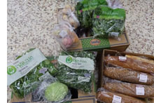 Surplus food from Tesco